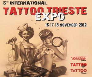 Impressionist art tattoo al Trieste Tattoo Expo 2012